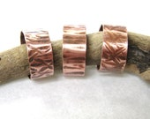 Toe Ring, copper toering,  textured copper ring,  adjustable ring, pinky ring, copper jewelry, copper ring, summer jewelry