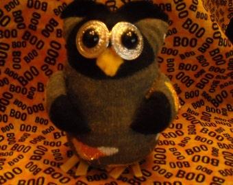 Owl/Sock Owl/Sock Toy/Halloween Decor/ Fall Decor/Otus the Sock Owl