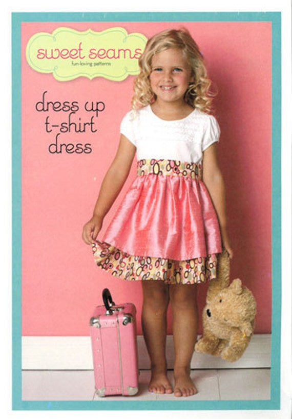 PATTERN Sweet Seams T-Shirt Dress Pattern