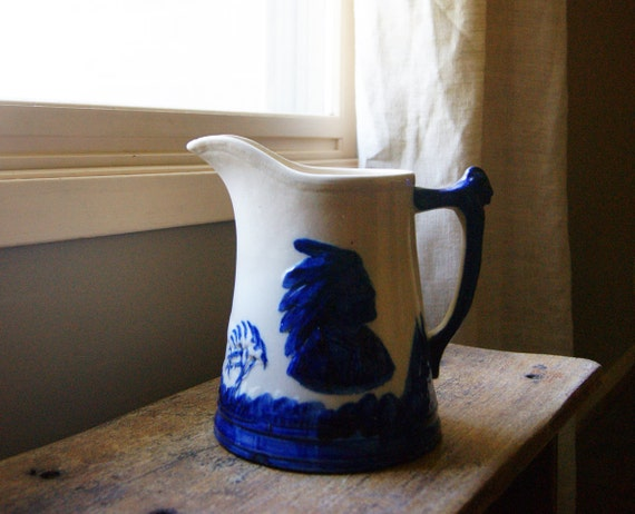 Old Sleepy Eye Pitcher by Monmouth