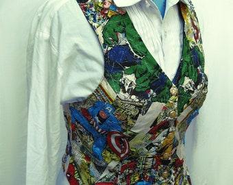 SALE Vintage Style Avengers Vest