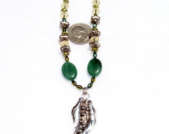 Growing Green necklace
