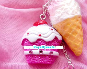 Your Just Desserts necklace - A cute gift for girls and women