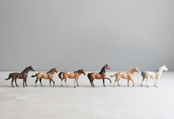 breyer horses / set of six