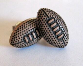 Football Earrings - Sports Jewelry - Football mom - sports favors