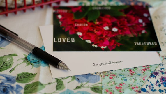 You Are Postcard with envelope - Set of 5