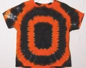 Tie Dye Shirt, Oregon State Beavers Football T-Shirt Kids size 2