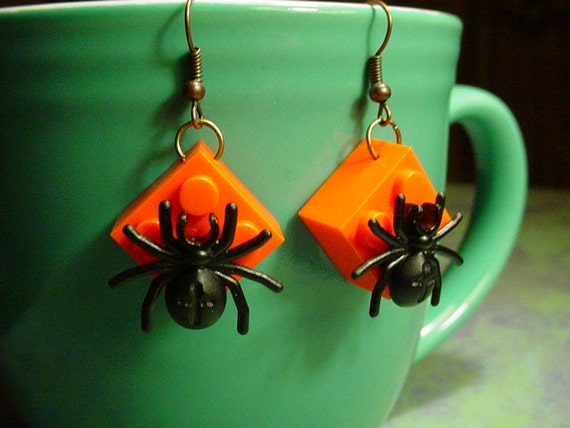 Halloween Spider Earrings YOU PICK