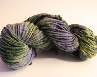 Hand painted merino yarn - Monet's Garden *FREE SHIPPING in US*