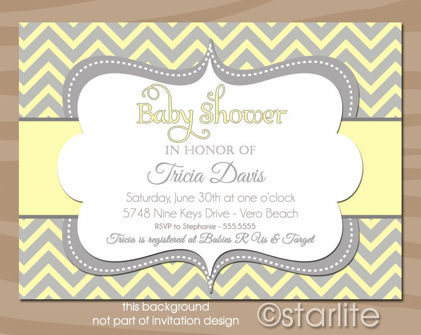 Baby Shower Invites Unisex is good invitation ideas