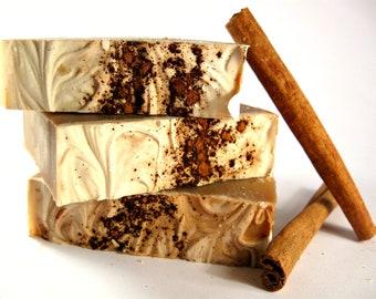 Cinnamon Bun Soap, Cold Process Soap, Bar Soap, Handmade Soap, Phthalate Free Soap, Cinnamon Soap, Bakery Soap, Cinna Buns Soap