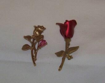 Avon Rose Pins