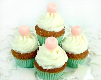 Mini Carousel Cupcakes - 4 Pack Soaps