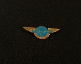 SALE was 50 Vintage Pan Am Junior Clipper Pilot Badge lgm
