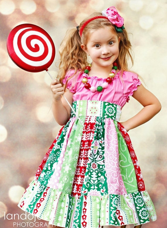 M2M Joy Dress by Corinna Couture Chunky Necklace for Girls