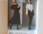 Vogue 1188 American Designer Dress, Body Blouse and Skirt Size 14, 16, 18 UNCUT Sewing Pattern