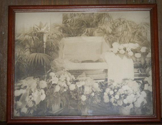 Antique Man In Coffin Post Mortem Photograph By Cottageprims