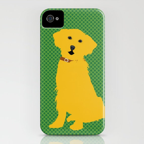 Golden Retriever Dog on Phone Case - Samsung Galaxy S6, iPhone 5C, iPhone 6S, iPhone 6 Plus, Gifts for Dog Lovers, Dog Gifts, Gifts for her