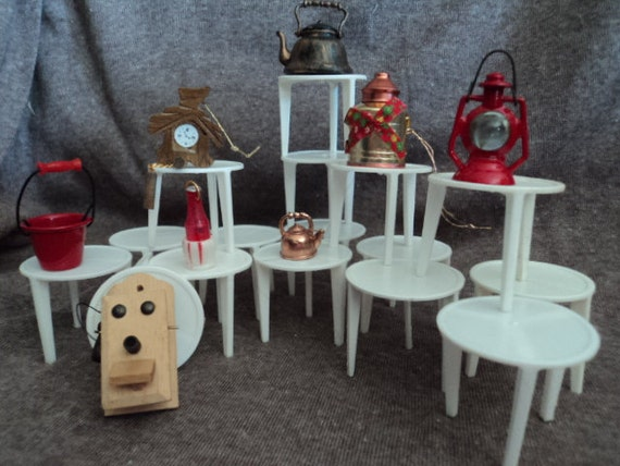 Miniutres &  Tables