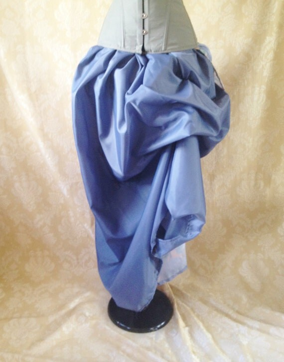 Guinevere Slate Blue Full Length Skirt-One Size Fits All