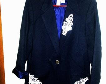 Jacket Blazer with appliques Retro Sag Harbor