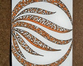 Circle of Fire Original ACEO