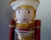 Queen Anne of Cleves Tudor, 4th wife of Henry VIII Nutcracker Doll