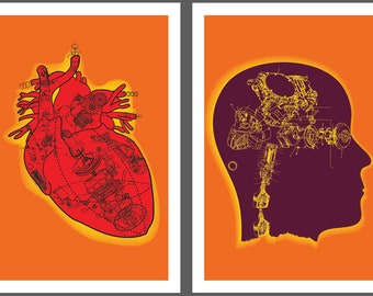 Robot Hearts, Mechanical Minds Diptych