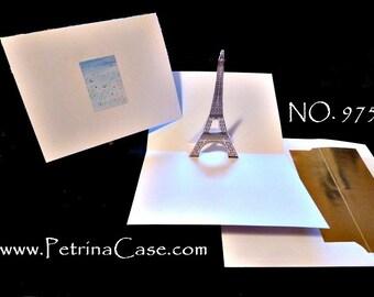Paris EIffel Tower Pop-Up Card NO 975