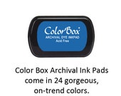 Ink Pad - ColorBox Archival Ink Pad