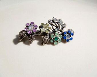 Vintage SNK Flower Pin Brooch