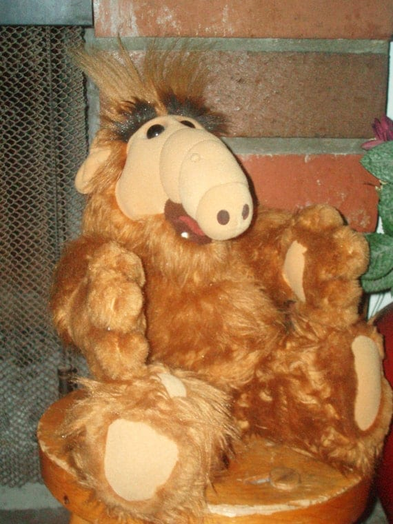1986 Talking Alf Alien Life Form