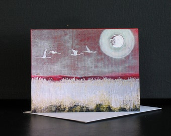 Card, Original Art, The Long Journey