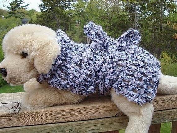 CROCHET PATTERN Adjustable Dog Coat num 99 Make it any
