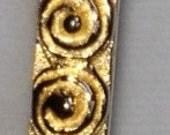 Vintage vermeil bangle bracelet