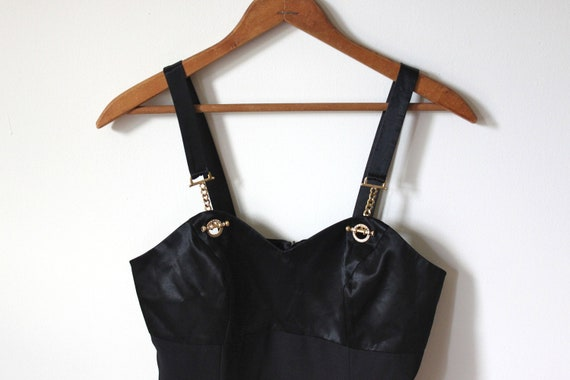 vintage little BLACK dress. XS/SM
