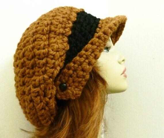 Beanie Hat Crochet Pattern With Brims Crochet Hat Pattern Pdf For