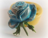 Cabochon Mold Rose Flower Resin Fondant Soap Chocolate Mold