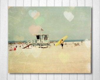 BUY 2 GET 1 FREE California Photography, Surf Decor, Surfboard Wall Art, California Poster, Wall Decor, Fine Art Print, Venice Beach Print