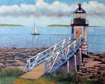 Marshall Point Lighthouse, Point Clyde, Maine