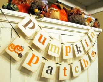 Pumpkin Patch Halloween Banner