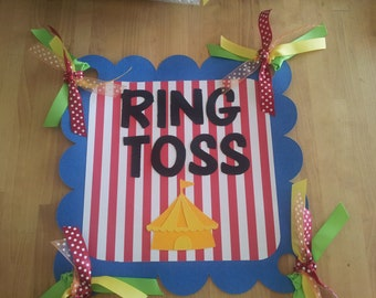 Circus/Carnival Game Signs