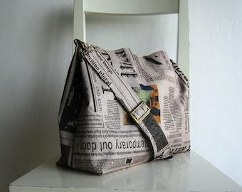 Art Newspaper Tote