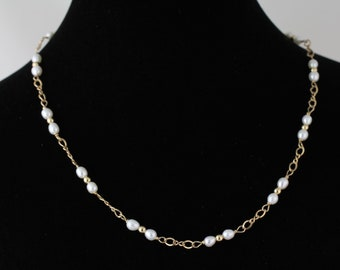Freshwater  Pearl Necklace. Listing  104381175