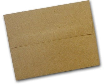 Brown Bag KRAFT A-9 Envelopes - 50 pack