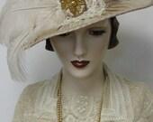 Lady Diana Shirred Cloche