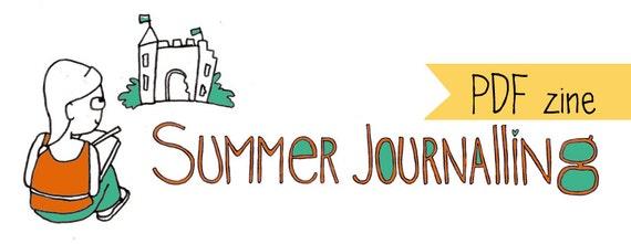 PDF zine: Summer Journalling