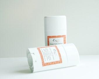 Orange Vanilla Natural Deodorant  - Essential Oil Deodorant