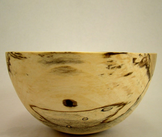 Lost and Found III - Spalted Maple Bowl(reserved for WoodDoodle)