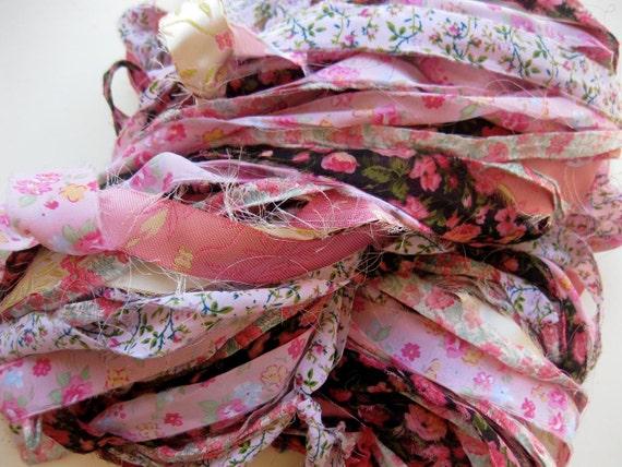 fabric ribbon yarn, Chinese Garden